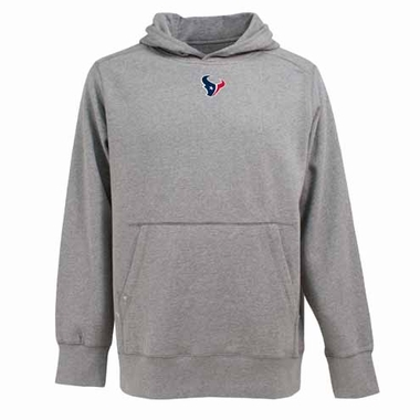 Houston Texans Mens Signature Hooded Sweatshirt (Color: Silver)
