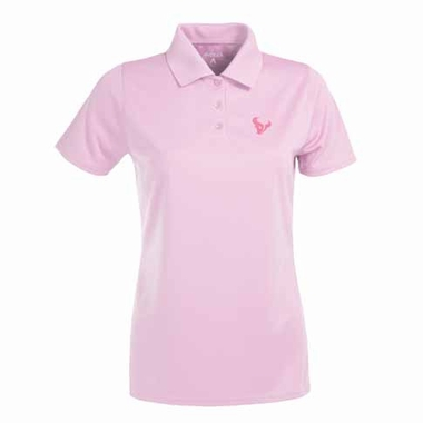 Houston Texans Womens Exceed Polo (Color: Pink)