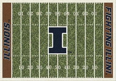 "Illinois 7'8"" x 10'9"" Premium Field Rug"
