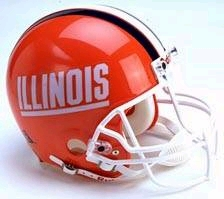 Illinois Fighting Illini 1989-2012 Riddell Deluxe Replica Helmet