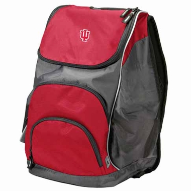Indiana Action Backpack (Color: Red)