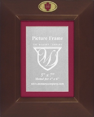 Indiana BROWN Portrait Picture Frame