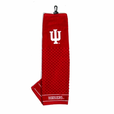 Indiana Embroidered Golf Towel