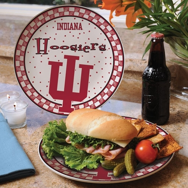 Indiana Gameday Ceramic Plate