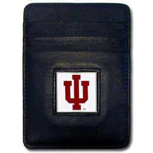 Indiana Leather Money Clip (F)