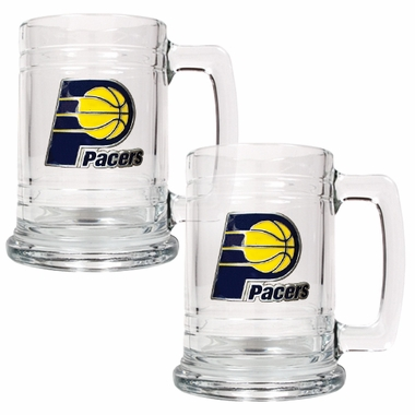Indiana Pacers Set of 2 15 oz. Tankards