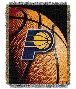 Indiana Pacers Woven Tapestry Blanket