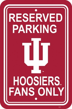 Indiana Plastic Parking Sign (P)