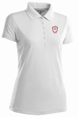 Indiana Womens Pique Xtra Lite Polo Shirt (Color: White)
