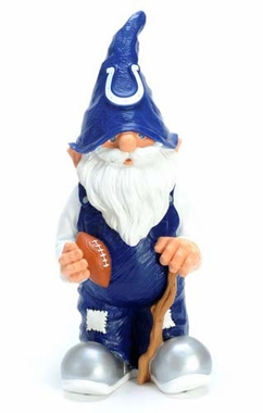 "Indianapolis Colts Garden Gnome - 11"" Male"