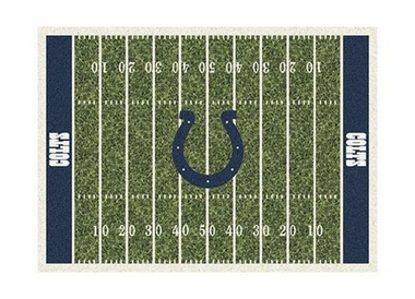 "Indianapolis Colts 3'10"" x 5'4"" Premium Field Rug"
