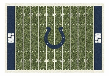 "Indianapolis Colts 5'4"" x 7'8"" Premium Field Rug"
