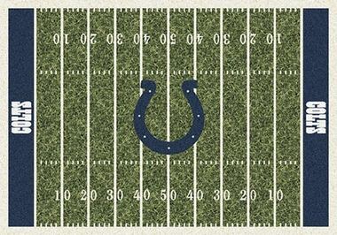 "Indianapolis Colts 7'8"" x 10'9"" Premium Field Rug"