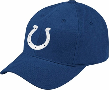 Indianapolis Colts Basic Logo Adjustable Cotton Hat