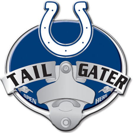 indianapolis colts bottle opener hitch cover. Black Bedroom Furniture Sets. Home Design Ideas