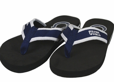 Indianapolis Colts Contoured Flip Flop Sandals