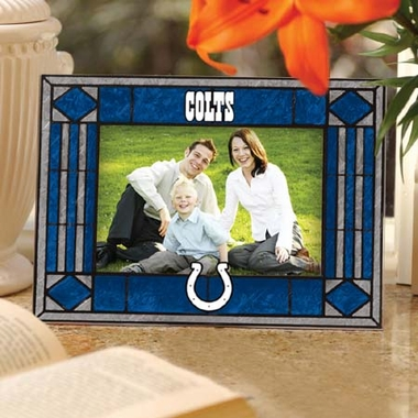 Indianapolis Colts Landscape Art Glass Picture Frame