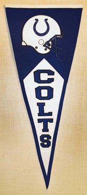 Indianapolis Colts Large Wool Pennant