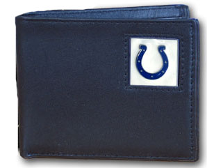 Indianapolis Colts Leather Bifold Wallet (F)