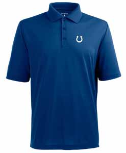 Indianapolis Colts Mens Pique Xtra Lite Polo Shirt (Color: Royal) - X-Large