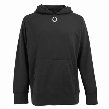 Indianapolis Colts Mens Signature Hooded Sweatshirt (Color: Black)