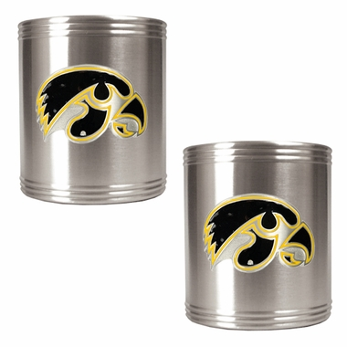 Iowa 2 Can Holder Set