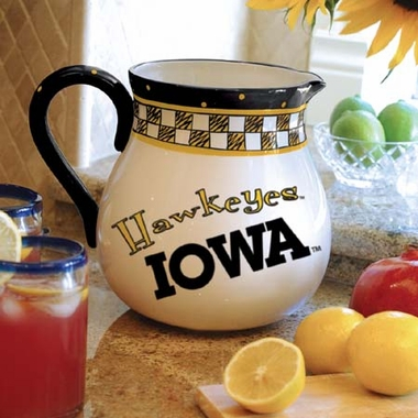Iowa Gameday Ceramic Pitcher
