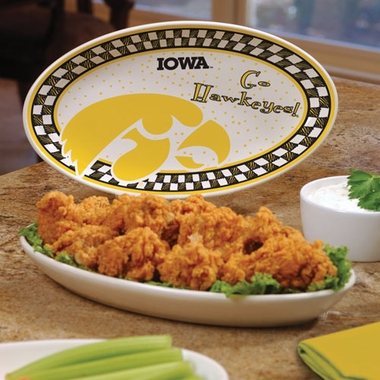 Iowa Gameday Ceramic Platter
