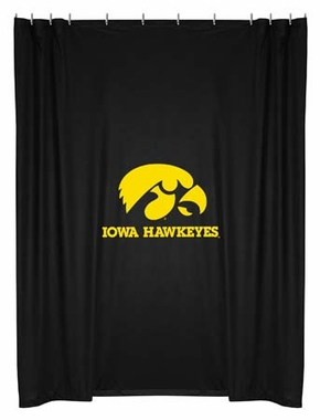 Iowa Jersey Material Shower Curtain