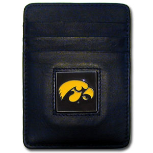 Iowa Leather Money Clip (F)