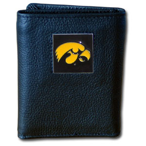 Iowa Leather Trifold Wallet (F)