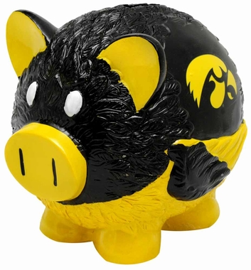 Iowa Hawkeyes Piggy Bank - Thematic Small