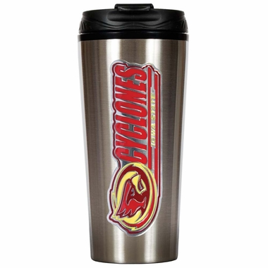 Iowa State 16 oz. Thermo Travel Tumbler