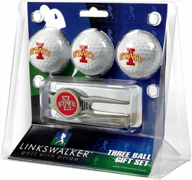 Iowa State 3 Ball Gift Pack With Kool Tool