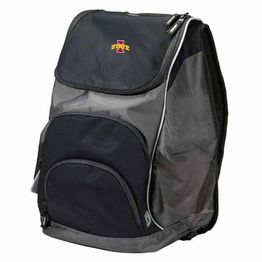 Iowa State Action Backpack (Color: Black)