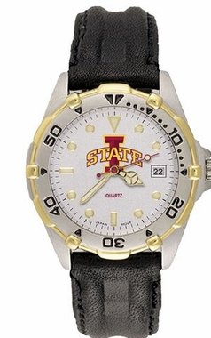 Iowa State All Star Mens (Leather Band) Watch