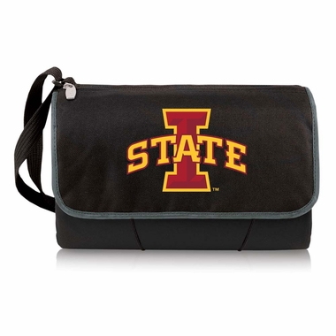 Iowa State Blanket Tote (Black)