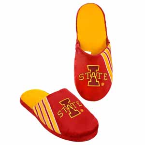 Iowa State Cyclones 2012 Team Stripe Logo Slippers - Small