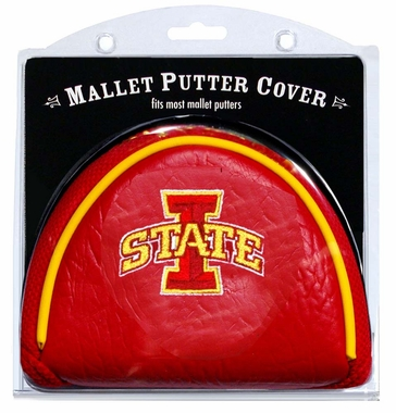 Iowa State Mallet Putter Cover