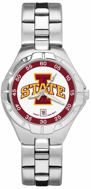 Iowa State Pro II Women's Stainless Steel Watch