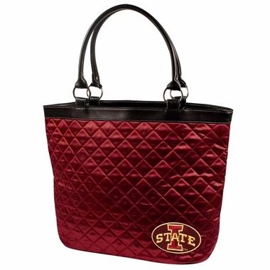 Iowa State Quilted Tote