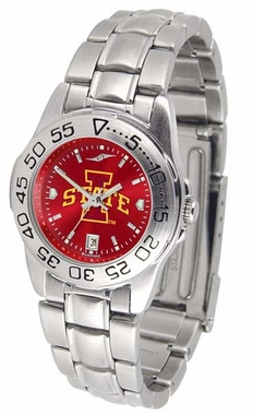 Iowa State Sport Anonized Women's Steel Band Watch