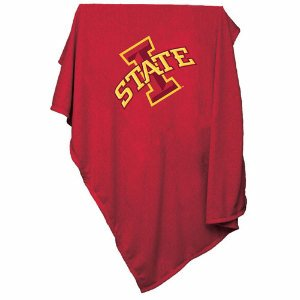 Iowa State Sweatshirt Blanket