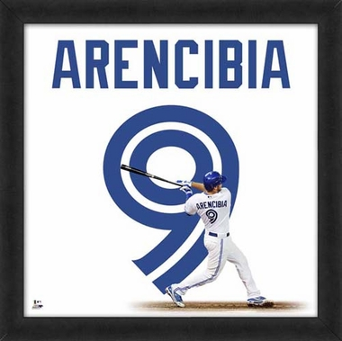 "J.P. Arencibia, Blue Jays UNIFRAME 20"" x 20"""