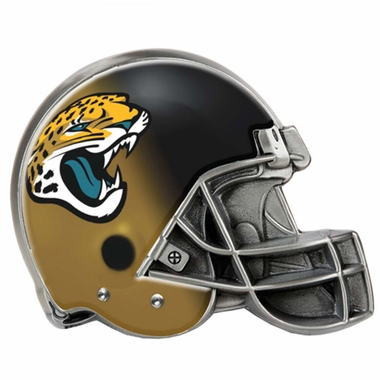 Jacksonville Jaguars Metal Helmet Trailer Hitch Cover
