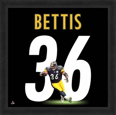 "Jerome Bettis, Steelers UNIFRAME 20"" x 20"""