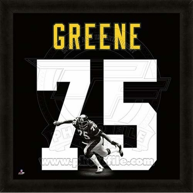 "Joe Greene, Steelers UNIFRAME 20"" x 20"""