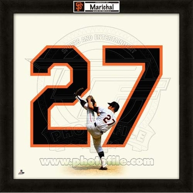 "Juan Marichal, Giants UNIFRAME 20"" x 20"""