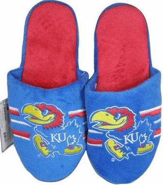 Kansas 2011 Team Stripe Slide Slippers