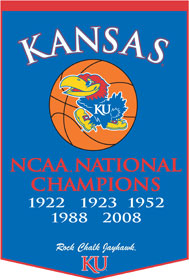 "Kansas 24""x36"" Dynasty Wool Banner"